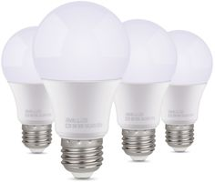 $14.99 for Albrillo 60 Watt Equivalent, 9W E26 LED Bulbs, 4 Pack, Daylight