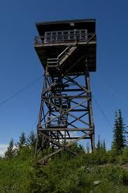 We have stayed in this tower on Yak Mt. in Montana.  Amazing