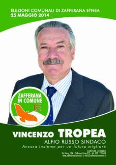 I nostri Candidati: Vincenzo Tropea #ZafferanainComune #AlfioRussoSindaco