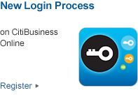 New Login Process on CitiBusiness Online