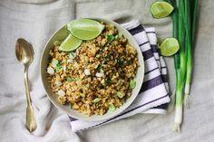 Crispy Cauliflower Brown Rice
