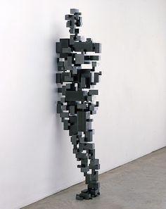 """""""Border I"""" by Antony Gormley"""