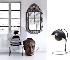 Vernon Panton, FlowerpotVP4   //+ mirror texture