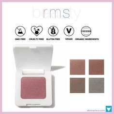 RMS Beauty – Pressed Powder Organic Eyeshadow ($20)