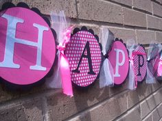 Minnie Mouse Happy Birthday Banner by inspirationsdesign on Etsy, $25.00