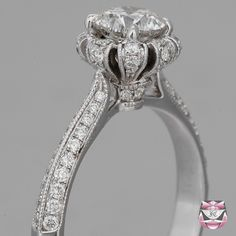 Art Deco Engagement Ring - GIA 1.09ct I/VS Diamond --another unique ring! Love it