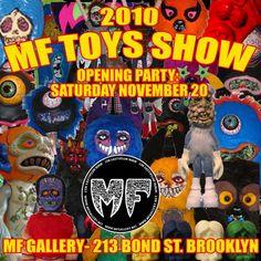 """2010 MF TOYS SHOW"" 11/20 - 12/23 2010"