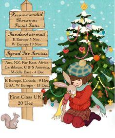 Christmas Postal Dates