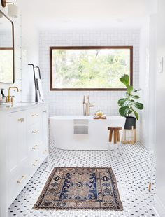 to Be Amazed by These 13 Mosaic Bathroom Floor Tile Ideas Black and white hexagon shaped mosaic bathroom tile.Black and white hexagon shaped mosaic bathroom tile. Bad Inspiration, Bathroom Inspiration, Bathroom Inspo, Bathroom Floor Tiles, Concrete Bathroom, Shower Tiles, Bathroom Windows, Wall Tile, Bathroom Styling