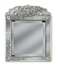 Venetian Glass Medicine Cabinet | Bathrooms - Light ...