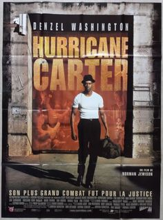1999-THE-HURRICANE-CARTER-Denzel-Washington-47x63-French-movie-poster