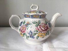 A personal favourite from my Etsy shop https://www.etsy.com/uk/listing/525018921/vintage-sadler-victoria-2-pint-teapot