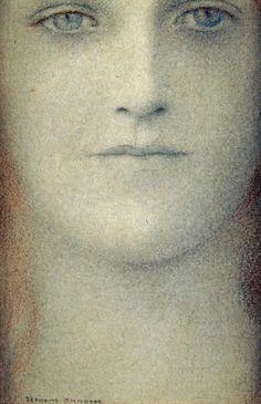 Study of a Woman    Fernand Khnopff