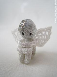 Amigurumi 08 inc Miniature Angel Pattern by Denizmum on Etsy, $8.50