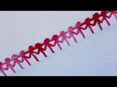 Crochet Edging Tutorial, New Blouse Designs, Border Embroidery, Elsa, Make It Yourself, Knitting, Crafts, Youtube, Dish Towel Crafts