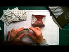 ▶ Envelope Card Using The Stampin' Up! Envelope Punch Board - YouTube