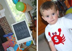 Under the Sea party: Sam is 2! on http://www.chickabug.com/blog