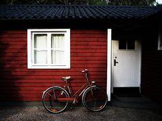 Summer House Bike http://www.fewo-stockholm.com/ferienhaus-schweden/
