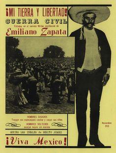 Emiliano Zapata. si aun viviera diria la pinche tierra no es de quien la trabaja...