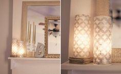 DIY luminarias