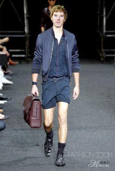 Benedict Modelbatch. Look at that dashing sense of fashion.
