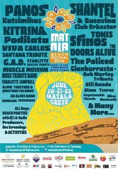 MATALA BEACH FESTIVAL - Matala, Crete