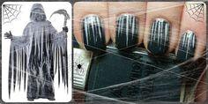 Cloak of Death | Community Post: 24 Spooky Nail Art Ideas For Halloween