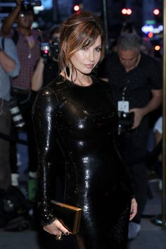 Gina Gershon Photos Photos - Actress Gina Gershon attends Tom Ford fashion show during New York Fashion Week September 2016 at 99E 52d St. on September 7, 2016 in New York City. - Tom Ford - Arrivals - September 2016 - New York Fashion Week