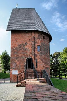 Witches Tower in Slupsk (Poland)