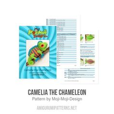 Camelia the Chameleon amigurumi pattern - Amigurumipatterns.net