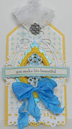You Make Life Beautiful, by Erin Blegen
