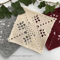 How to Crochet a Solid Granny Square Crochet Blocks, Granny Square Crochet Pattern, Crochet Squares, Crochet Blanket Patterns, Crochet Motif, Crochet Doilies, Crochet Flowers, Granny Squares, Crochet Coaster