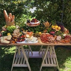 Thanks for the gorgeous pic 😀😀😀 Was a beautiful day for an outside afternoon baby shower yesterday ☀️ Party Platters, Food Platters, Cheese Platters, Charcuterie And Cheese Board, Charcuterie Platter, Cheese Boards, Antipasto, Buffets, Deco Buffet
