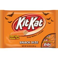Kit Kat Orange-Colored Halloween Treats Snack Size Candy, 10.29 oz: Snacks, Cookies & Chips : Walmart.com