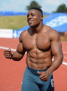 Harry Aikines-Aryeetey… Track and field Hotness