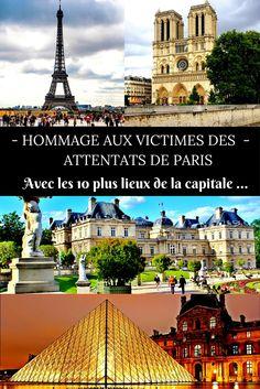 Paris a toujours occupé une grande place dans mon coeur... Il y a environ une semaine, c'est un peuple entier qui s'est réveillé dans la terreur et la douleur, pleurant les trop nombreuses victimes de ces funestes attentats. J'aimerais leur rendre hommage à ma manière, à travers ma sélection des plus beaux lieux de la capitale... Sereine et majestueuse en temps normale, elle fait sans conteste partie des plus belles villes du monde !