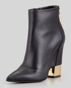 "giuseppe_zanotti_boots_gold_heel_Tendencias Zapatos Mujer ""Otono Invierno 2013_2014"" TheGoldenStyle"