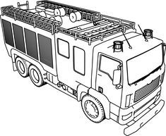 Police Car Coloring Pages | Crafts | Cars coloring pages ...