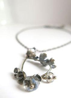 Patinated Petals Necklace