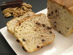 Pan de mantequilla con nueces y chocolate - MisThermorecetas