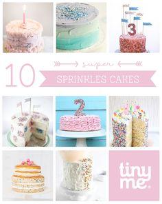 10 Super Sprinkles Cakes - Tinyme Blog