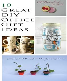 diy office gifts. 10 Great DIY Office Gift Ideas Diy Gifts T