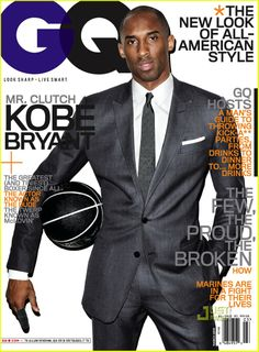 But of course this is an old GQ cover. KB in GQ.