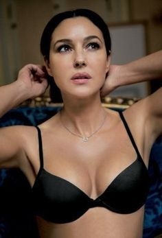 In Love with Timeless Beauty Monica Belluci