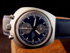 Tissot Lemania Bullhead chronograph for Rotary