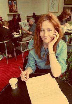 J.K. Rowling :)