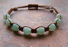 Amazonite Healing Energy Bracelet ~ A beautiful milky blue-green stone with a soft & soothing energy. Restores calmness, relieves stress & neutralizes extremes Gentle yet powerful balancing energy Promotes insight into higher truths & personal integrity Considered a good luck stone. http://zenjewelry.mysticnaturals.com/amazonite-healing-bracelet/