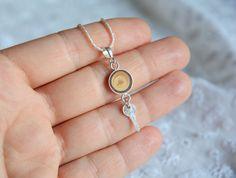 Collier petit pendentif clé petit pendentif avec par MyPieceOfWood