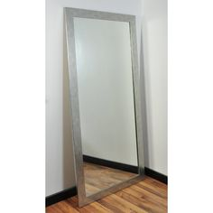 Modern Floor Mirrors, Contemporary Full Length Mirrors, Unique Mirrors, Cool Mirrors, Beautiful Mirrors, Modern Contemporary, Beveled Mirror, Beveled Glass, Body Mirror