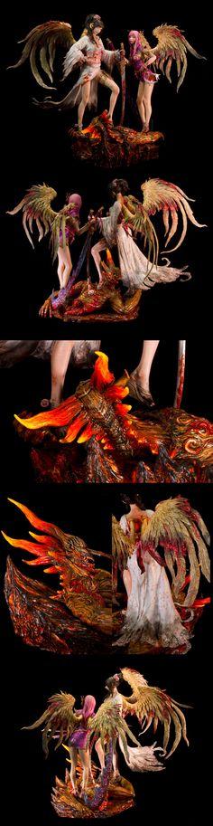Guardian's Sacrifice (collage)